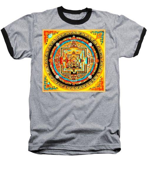 Kalachakra Mandala Baseball T-Shirt