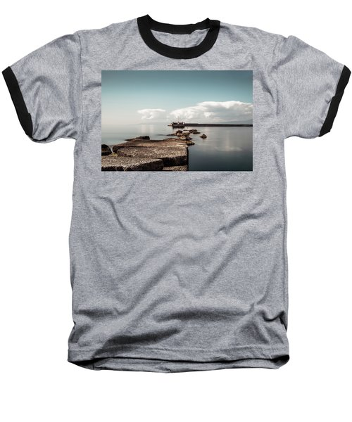 Kalamata Port / Greece Baseball T-Shirt by Stavros Argyropoulos