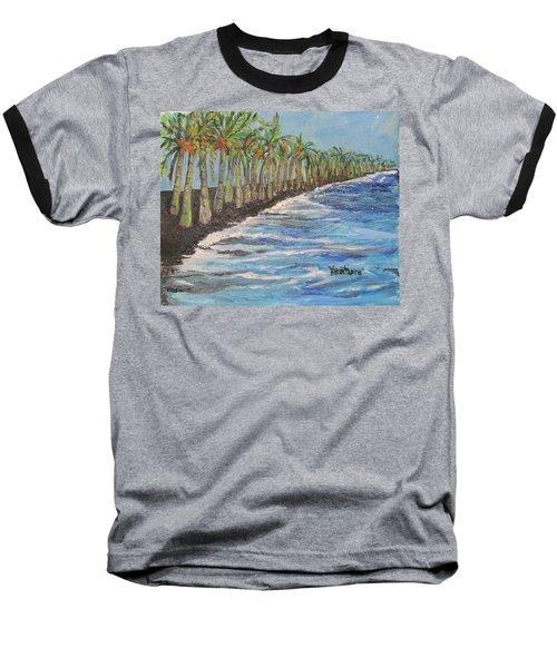 Kalapana Beach Baseball T-Shirt