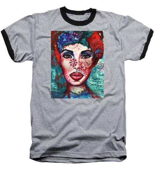 Kaleidoscope Baseball T-Shirt by Alga Washington