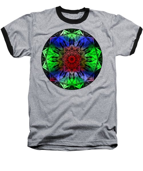 Kaleidoscope Baseball T-Shirt