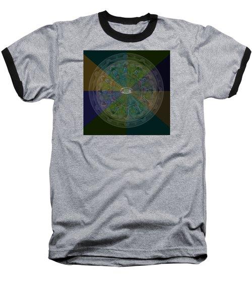 Kaleidoscope Eye Baseball T-Shirt