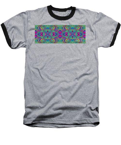 Kaleidoscope Heart Baseball T-Shirt