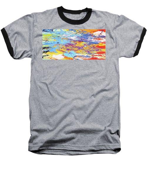 Kaleidoscope Baseball T-Shirt by Ralph White
