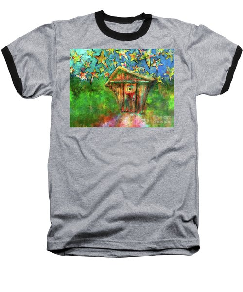 Kaleidoscope Skies Baseball T-Shirt