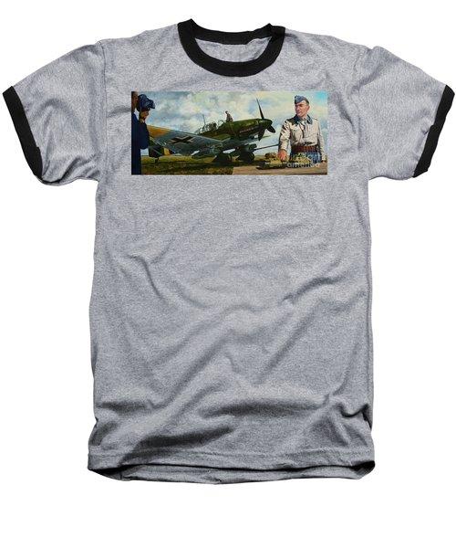 Kamerad Hans - Ulrich Baseball T-Shirt