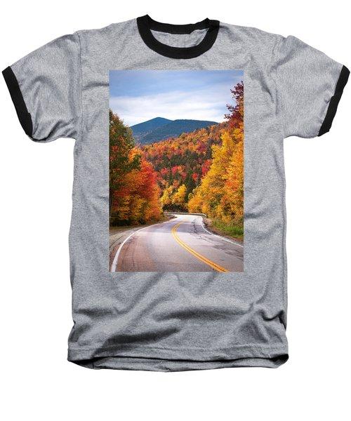 Kancamagus Highway Baseball T-Shirt