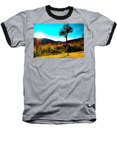 Kancamagus Sunset Baseball T-Shirt