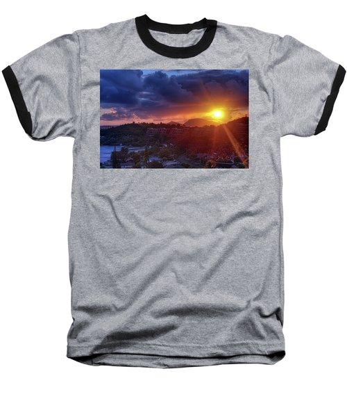 Kaneohe Sunrise Baseball T-Shirt