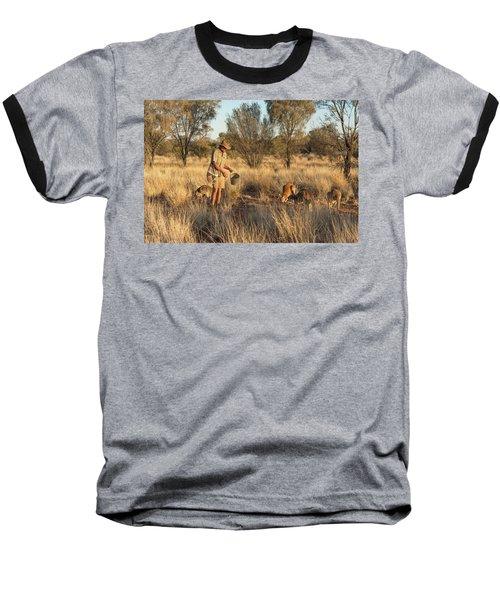 Kangaroo Sanctuary Baseball T-Shirt