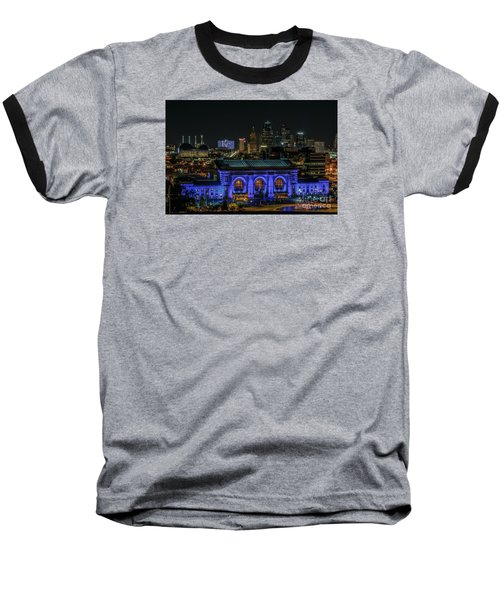 Kansas City In Royal Blue Baseball T-Shirt