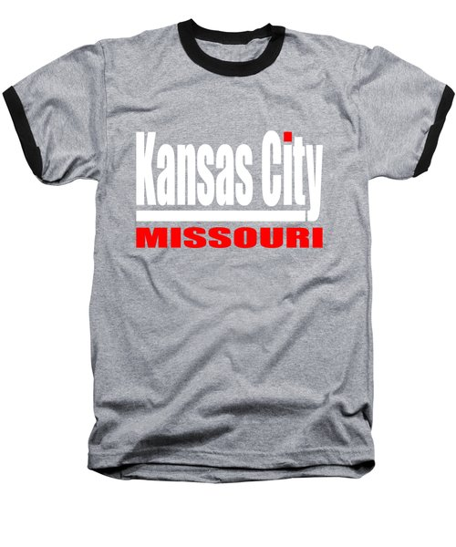 Kansas City Missouri Design Baseball T-Shirt