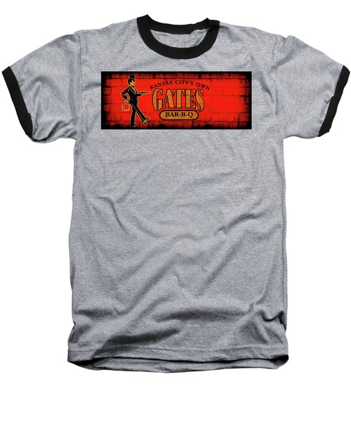 Kansas City's Own Gates Bar-b-q Baseball T-Shirt