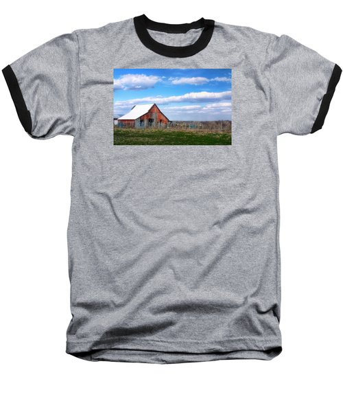 Kansas Farm Baseball T-Shirt