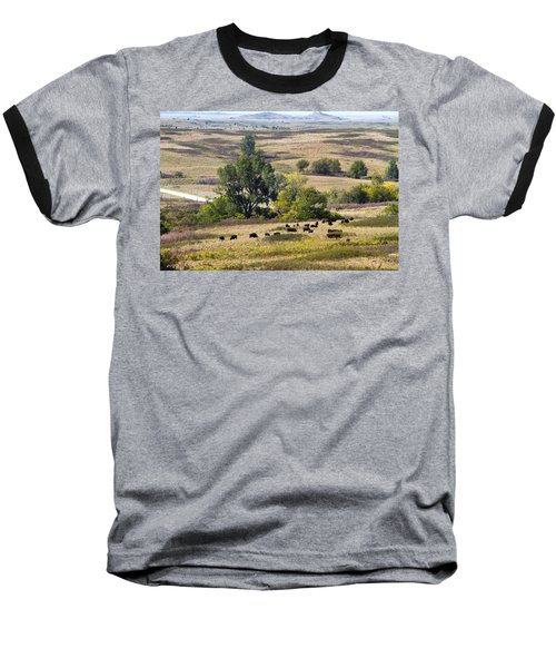 Kansas Plains  Baseball T-Shirt