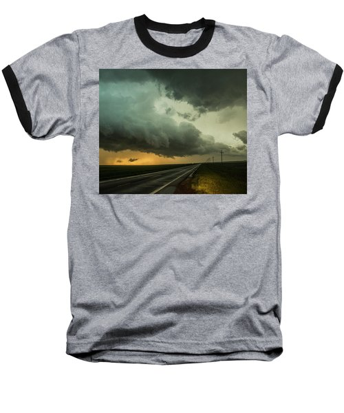 Kansas Storm Chase Bust Day 004 Baseball T-Shirt