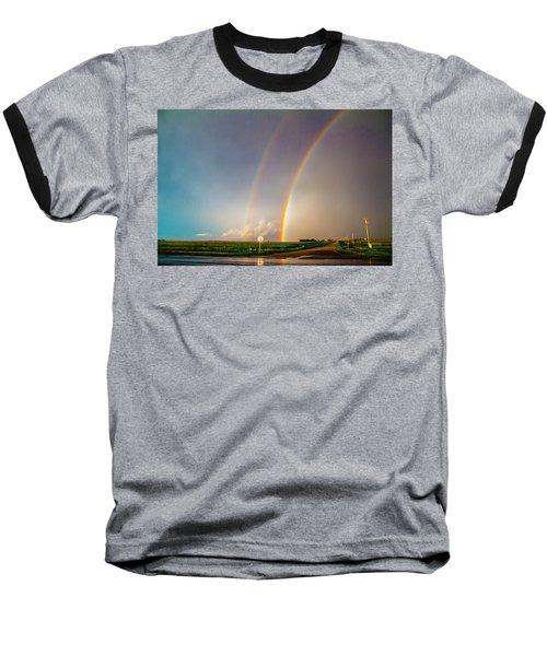 Kansas Storm Chase Bust Day 007 Baseball T-Shirt