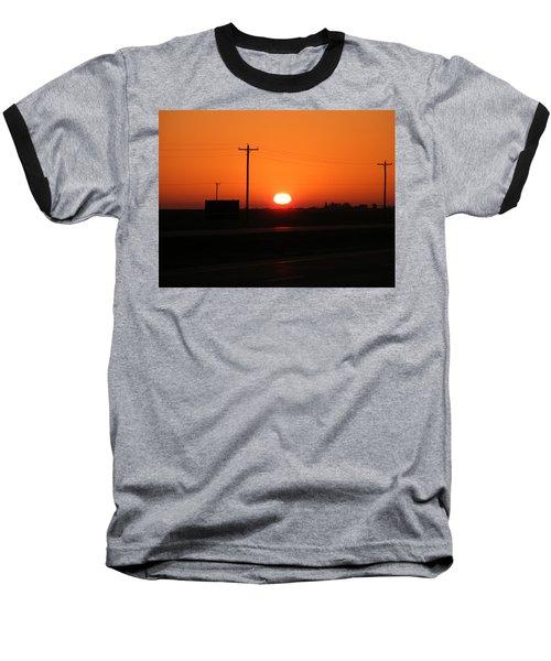 Kansas Sunrise Baseball T-Shirt