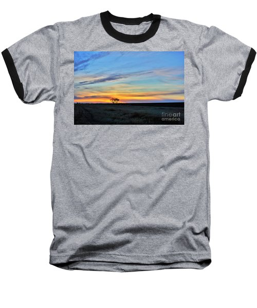 Kansas Sunrise1 Baseball T-Shirt