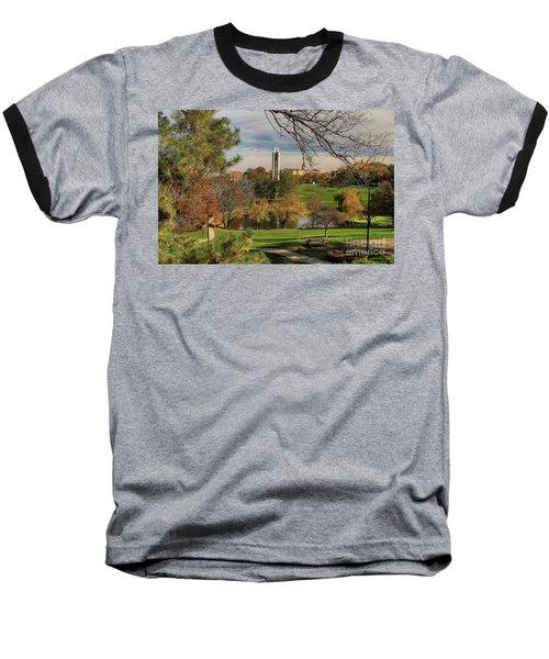 Kansas University Baseball T-Shirt by Joan Bertucci