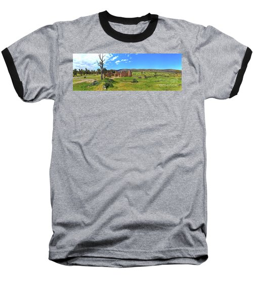 Kanyaka Homestead Ruins Baseball T-Shirt by Bill Robinson