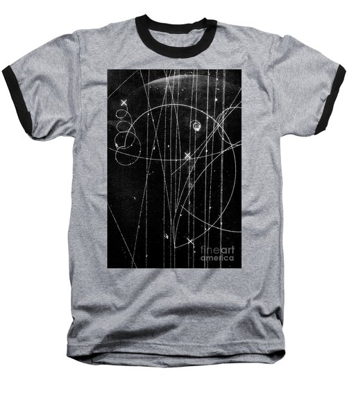 Kaon Proton Collision Baseball T-Shirt by SPL and Photo Researchers