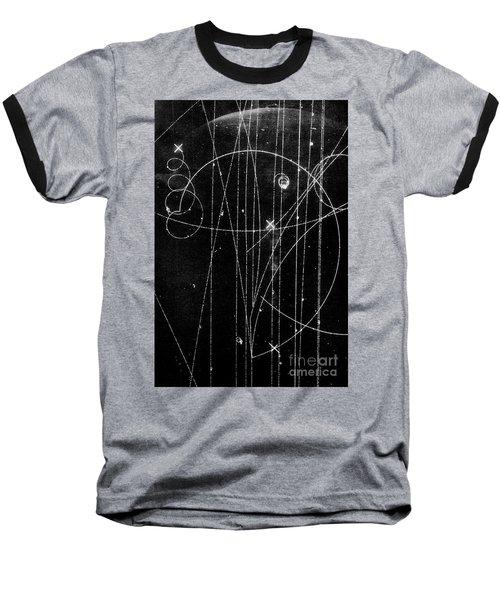 Kaon Proton Collision Baseball T-Shirt