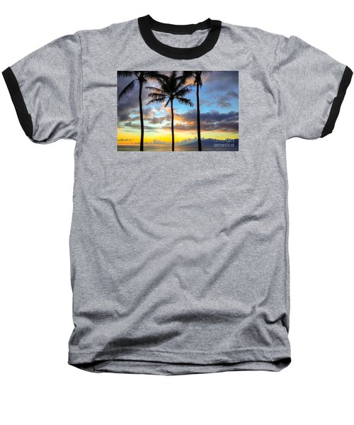 Baseball T-Shirt featuring the photograph Kapalua Dream by Kelly Wade