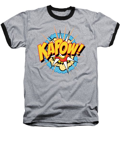 Kapow Baseball T-Shirt