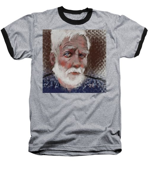 Baseball T-Shirt featuring the painting Kare by Jim Vance