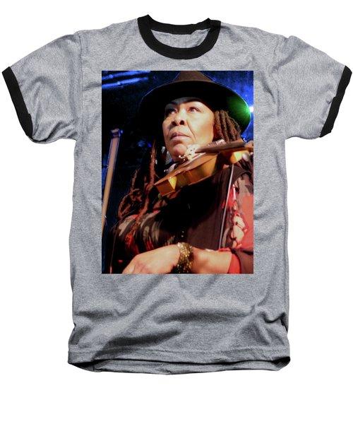 Karen Briggs 2017 Hub City Jazz Festival - Pause Baseball T-Shirt