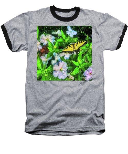 Karen's Garden Baseball T-Shirt by Toma Caul