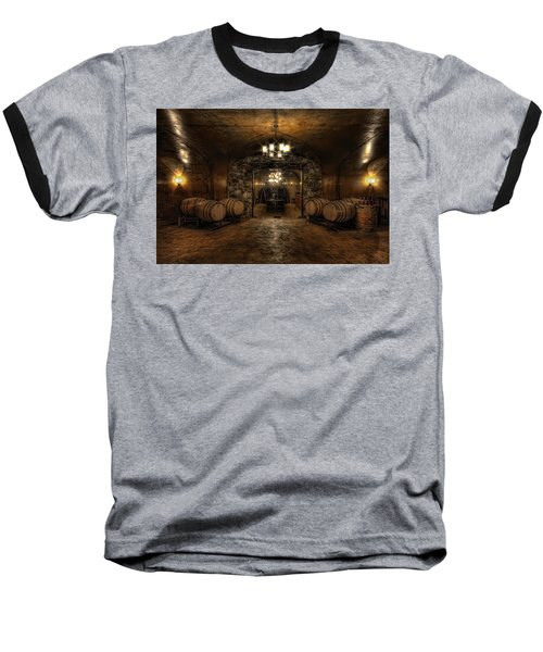 Karma Winery Cave Baseball T-Shirt