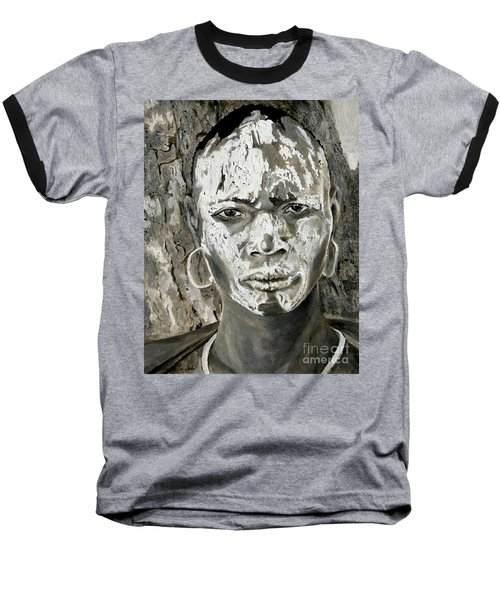 Karo Man Baseball T-Shirt
