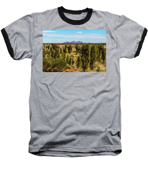 Baseball T-Shirt featuring the photograph Kata Tjuta 01 by Werner Padarin
