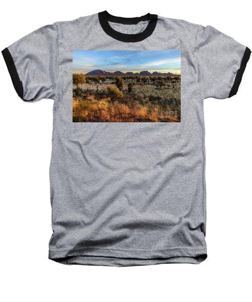 Baseball T-Shirt featuring the photograph Kata Tjuta 02 by Werner Padarin
