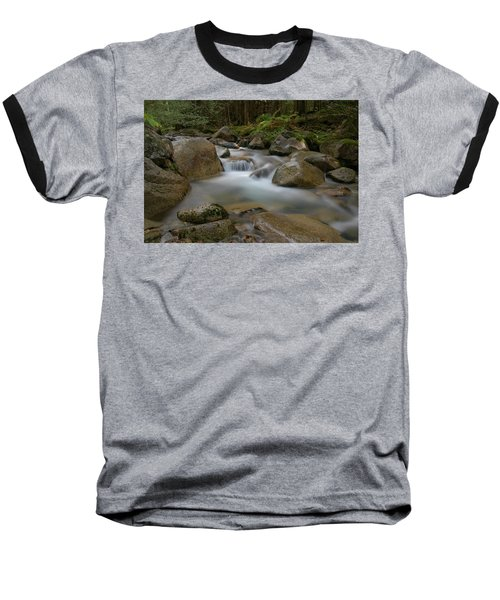 Katahdin Stream Cascades Baseball T-Shirt