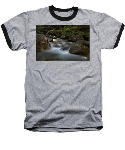 Katahdin Stream In The Shade Baseball T-Shirt