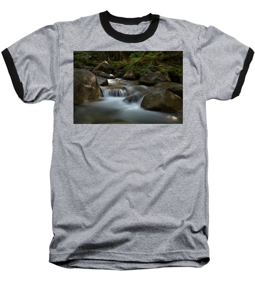 Katahdin Stream In The Shade Baseball T-Shirt