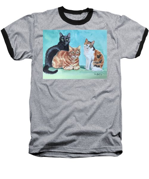Kates's Cats Baseball T-Shirt