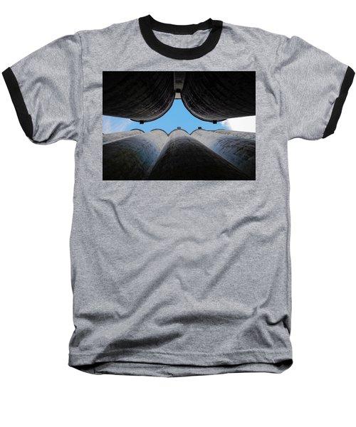 Katy Texas Rice Silos Baseball T-Shirt