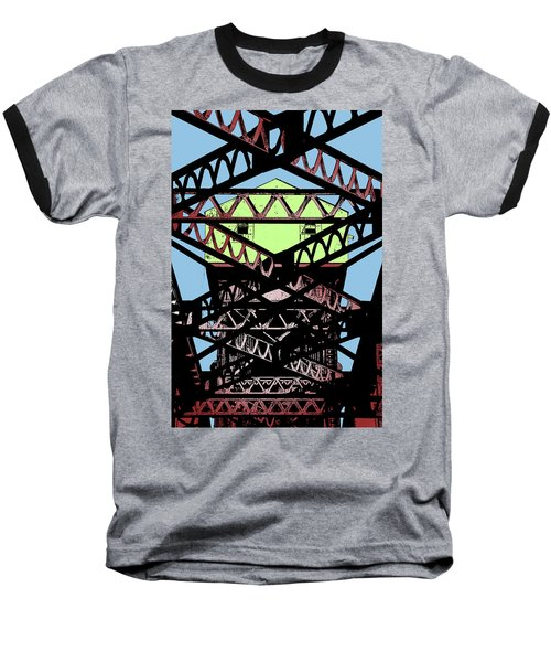 Katy Trail Bridge Baseball T-Shirt by Christopher McKenzie