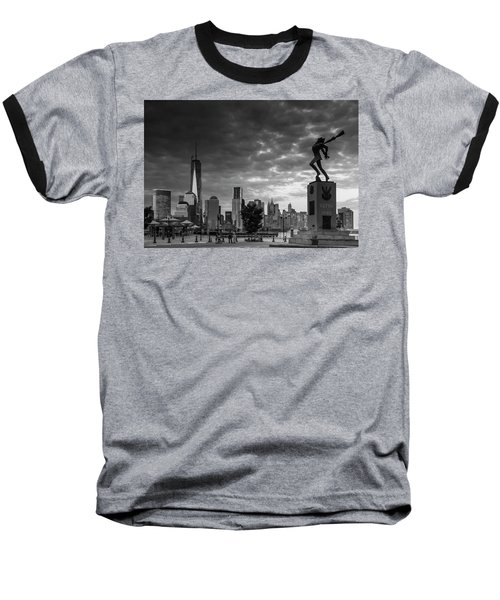 Katyn New World Trade Center In New York Baseball T-Shirt