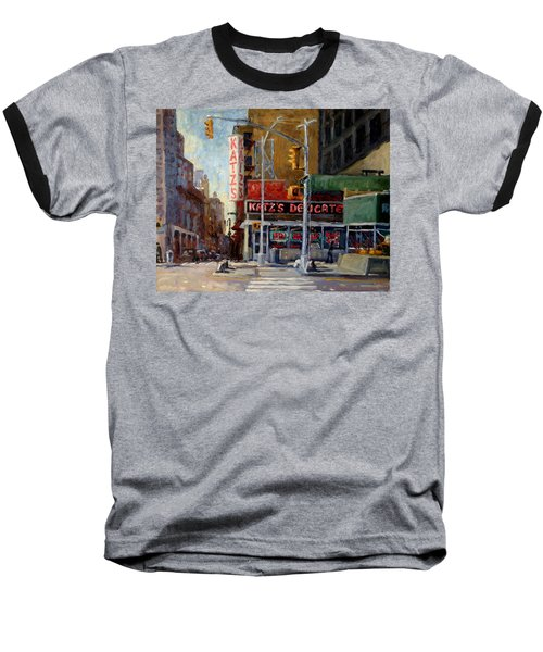 Katz's Delicatessen, New York City Baseball T-Shirt