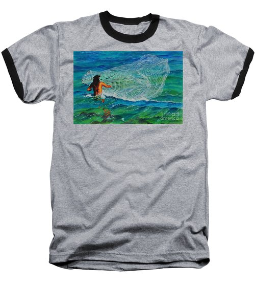Kauai Fisherman Baseball T-Shirt