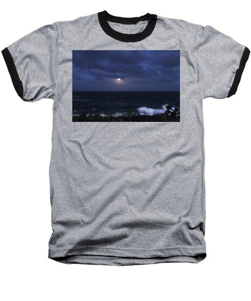 Kauai Moon At Poipu Baseball T-Shirt
