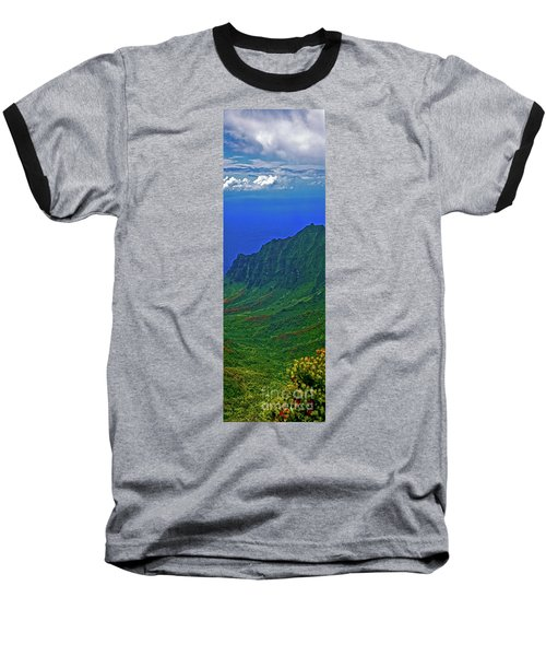 Kauai  Napali Coast State Wilderness Park Baseball T-Shirt