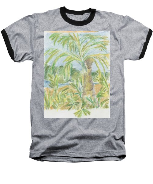 Kauai Palms Baseball T-Shirt