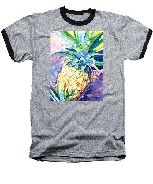 Kauai Pineapple 3 Baseball T-Shirt
