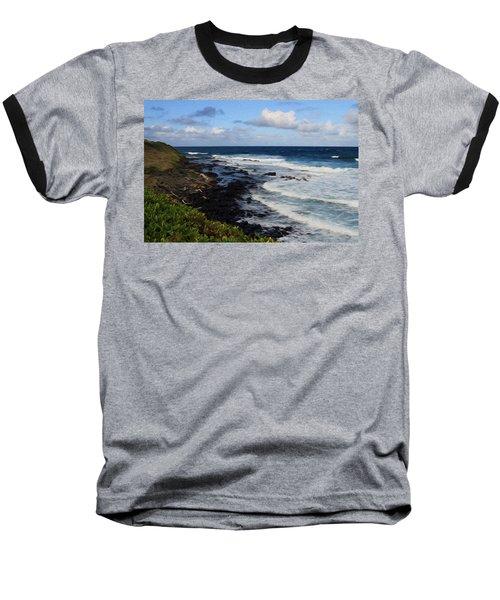 Kauai Shore 1 Baseball T-Shirt